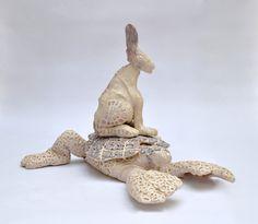Dance for water, artist, Dagmardekok, ceramics and glaze. www.dagmardekok.com