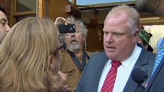 Rob Ford in shouting match ahead of mayoral debate:  John Tory, among mayoral candidates, says Fords' pre-debate run-in part of their 'overall circus'  (CBC News 28 July 2014)