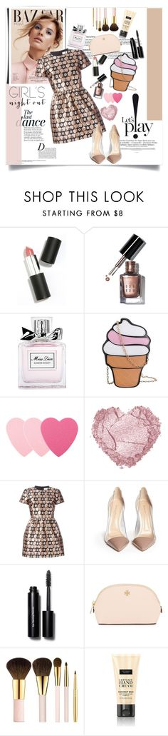 """""""Untitled #98"""" by jade-714 ❤ liked on Polyvore featuring beauty, Sigma Beauty, Bobbi Brown Cosmetics, Christian Dior, Sephora Collection, Anja, RED Valentino, Gianvito Rossi, Tory Burch and AERIN"""