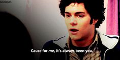 Yeah, you know he's totally in it for the long haul. | 37 Reasons Seth Cohen Is The Perfect Boyfriend