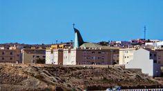 Travel ... Canary Islands ..Mirando al Cielo : Iglesia del Tablero vista desde San Fernando de Ma...