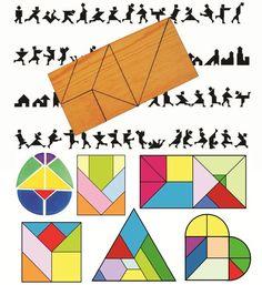 Puzzles Y Utilidades Volver Tangram Didactico Tangram Didactico