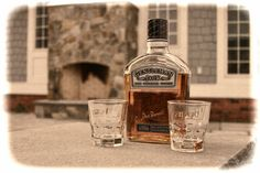 https://flic.kr/p/jbpsuD | Gentleman Jack | We had just finished building the Stone Fireplace in the background and decided it was time to celebrate with a Gentleman!