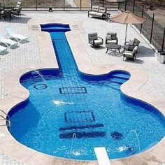 rock and roll at your pool! ha..loving this Bella Donna