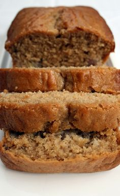 banana pear bread - in the oven now!