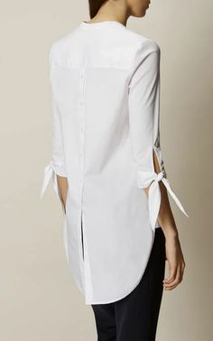 Discover women's clothing for work, weekend or special occasions. Shop Karen Millen's new collection of dresses, coats and tailoring for women now. Karen Millen, Blouse Styles, Blouse Designs, Dress Shirts For Women, Clothes For Women, Ladies Clothes, Simple Outfits, Casual Outfits, Hijab Fashion