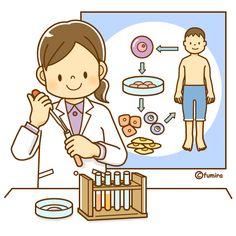 再生医療のイメージイラスト(ソフト)