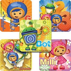 Umizoomi Large Stickers (5 Pack)