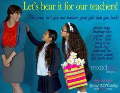 fantastic Teacher Gift Ideas for a school fundraiser