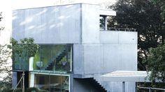 Einfamilienhaus in St.Gallen mit Glas- und Beton-Fassade - krapfag.ch…