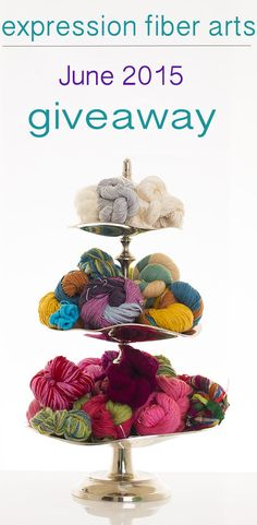 Free yarn giveaway for June! Oh joy! Hop on over to enter!