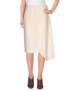 CEDRIC CHARLIER Knee Length Skirt. #cedriccharlier #cloth #skirt