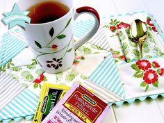 ScrapBusters: Mug Rug with Napkin Pocket   Sew4Home
