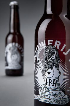 """Branding studio Redthumb was given it's shortest ever brief (simply """"Tits, tattoos, and skulls"""") and created a design with enough punch to match the full flavoured brew."""