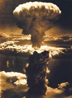 La terrificante esplosione atomica di Fat Man su Nagasaki, il 9 Agosto 1945.  (Credits: Wikipedia)