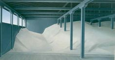 Salt Shed Interior - Christopher Pratt                                                                                                                                                                                 More