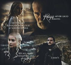 Son Like Father - Jon Snow, Rhaegar Targaryen and Daenerys #got #asoaf #GameofThrones #housetargaryen
