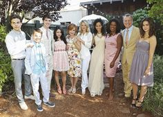 "TV Worth Blogging About: To Honor, Love, and Cherish (Fosters 1a Finale), The Fosters, Fosters episode 10, Fosters episode 10 ""I Do"", Stef and Lena, Callie, Jude, Mariana, Brandon, Jesus, full family photo"