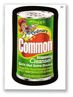 Wacky Packages Topps 5th Series 2007: Common - var 1 - #33