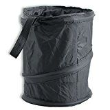 CUSTOM Car Trash Can by Autos  Pop Up Portable Trash Can Leak Proof Black Collapsible Litter Bag