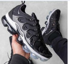 2019 Authentic Men Nike Air VaporMax 2018 Plus TN Running Shoes nike shoes 2019 - Nike Shoes Air Max Sneakers, Nike Air Shoes, Nike Air Vapormax, Running Shoes For Men, Sneakers Nike, Nike Running, White Sneakers, Jordan Shoes, Air Jordan