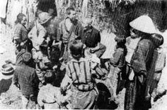 Japanese civilians with U.S soldiers-Knowing that death was imminent, the soldiers freely committed rape. In some cases, fearing discovery, the soldiers forced parents to kill their crying babies, or the soldiers killed the infants themselves. Sometimes, they killed Okinawans seeking to share a cave, fearing they were spies. This widespread abusiveness left deep scars and, to this day, is a divisive influence between the people of Japan and of Japan's Okinawa.
