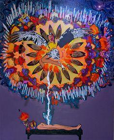 """""""Astral Trip"""" de Andrea Valencia @ VirtualGallery.com"""