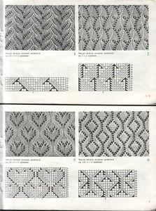 Lace stitch pattern