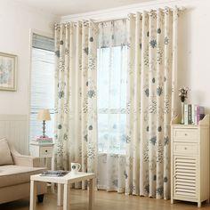 Готовые сельский стиль конопли шторы, # Лау   batiya полу глаз затемнение хлопок белье шторы и сад чистой cortinas для гостинойкупить в магазине Sulian Home DecorнаAliExpress