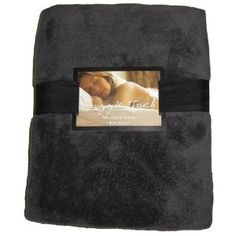 £10.90 amazon.co.uk Mar2013, Warm Snuggle Touch Microfibre Fleece Sofa Blanket Throw Slate Grey 140cm x 200cm: Amazon.co.uk: Kitchen & Home