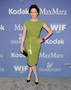 Rose McGowan attends Women In Film's 2013 Crystal + Lucy Awards at The Beverly Hilton Hotel on June 12, 2013 in Beverly Hills, California
