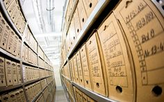 Archivists care for secret documents. Files from East Germany's notorious secret police are now available online