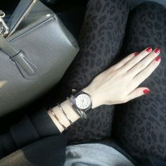 Red nails ...