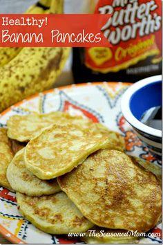 Healthy Banana Pancakes Recipe on Yummly. @yummly #recipe
