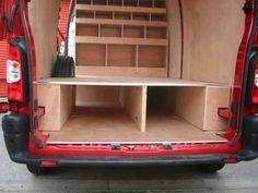 Van Storage, Truck Storage, Van Organization, Van Shelving, Van Racking, Astro Van, Flooring, Diy, Plywood