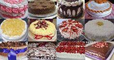 Receita de Naked Cake de Brigadeiro Gourmet com Brigadeiro de Coco - Receita Toda Hora My Recipes, Cake Recipes, Cooking Recipes, Food Cakes, Naked Cakes, Cake Boss, Love Cake, Cheesecake, Pizza