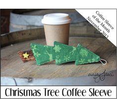 Christmas Tree Coffee Sleeve