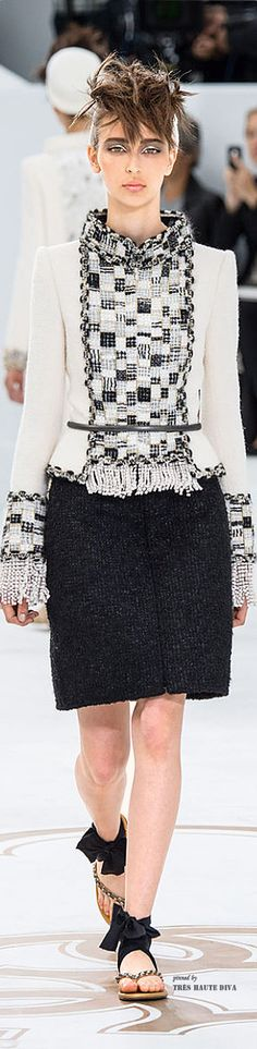 Chanel Haute Couture FW 2014 -15 ♔ Tres Haute Diva
