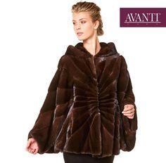 AVANTI FURS - MODEL: NIDA-K-MARZENA MINK JACKET with Hood   #avantifurs #fur #fashion #mink #luxury #musthave #мех #шуба #стиль #норка #зима #красота #мода #topfurexperts