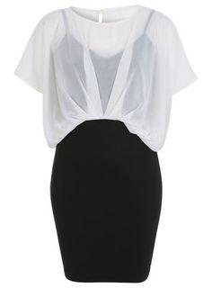 Blouson Top Dress - Going Out Dresses - Dress Shop - Miss Selfridge US