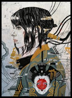 Ghost in the Shell(2017) Interesting style.