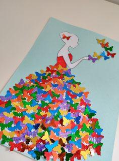 Spring Crafts For Kids, Diy For Kids, Paper Crafts, Diy Crafts, School Decorations, Mothers Day Crafts, Creative Logo, Art Tips, Paint Designs