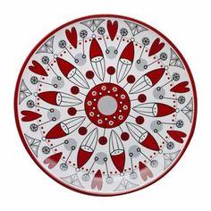 Christmas świąteczny ceramiczny półmisek SAGAFORM