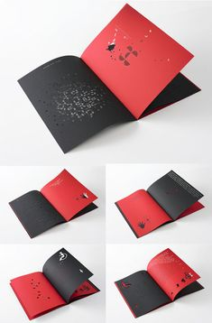 Concept Book for Font....so cool for opening (if theme was text or color based)