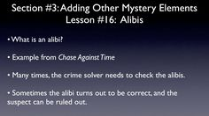Alibis (A Short Mystery Writing Lesson for Kids) Writing Courses, Writing Lessons, Teaching Career, Lessons For Kids, Social Skills, Health And Wellness, Mystery, Child, Boys