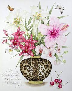 Kelly Higgs Botanical Art2