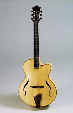 "Rizzolo Guitars, 16"" Leafhole Archtop with Venetian Cutaway"