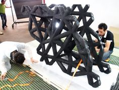 Architect, voxeljet create ultra-high performance concrete using 3D printing