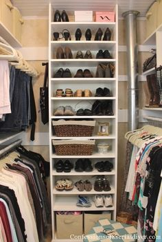 How to Bulld a closet... this is amazing!!!