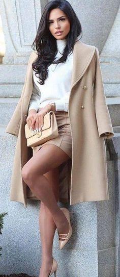 Hot Outfits, Winter Fashion Outfits, Classy Outfits, Look Fashion, Girl Fashion, Autumn Fashion, Womens Fashion, Beautiful Girl Image, Gorgeous Women